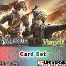 Vingolf 2 - Valkyria Chronicles (English) Force of Will Sealed Set
