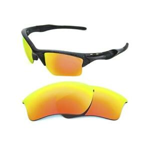 c6e576b38e NEW POLARIZED FIRE RED REPLACEMENT XL LENS FOR OAKLEY HALF JACKET ...