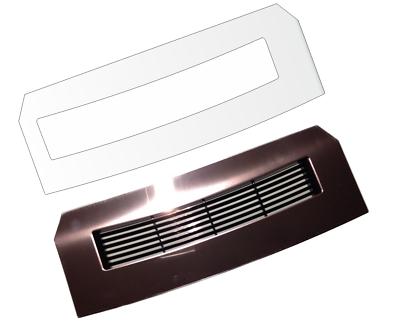 2 x Schutzfolie für Jura Z6 Abtropfblech Tassenablage Tassenplattform Blech