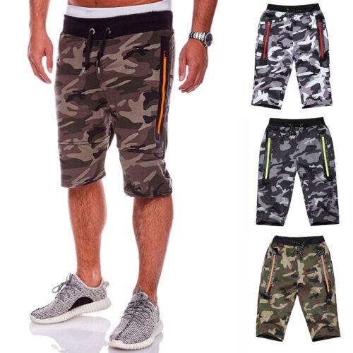 Pantaloni in allenamento da mimetico casual da palestra jogging Pantaloncini militare corti da uomo da nvqSXYz0