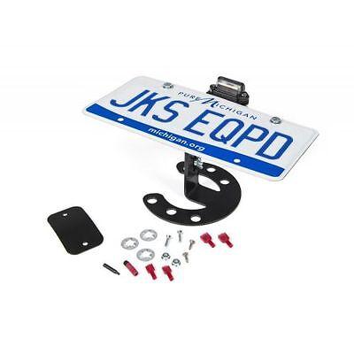 JKS Manufacturing JKS8211 Spare Tire License Plate Mount TJ For Jeep JK YJ