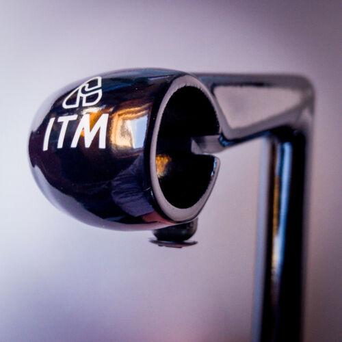 ATTACCO MANUBRIO CORSA IN ALU QUILL STEM  ITM ITALMANUBRI 110mm  NERO 22,2mm
