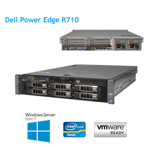 Dell-PowerEdge-R710-2x-X5650-2-66GHz-Six-core-48GB-RAM-8-x-2-5-034-Caddy-H700