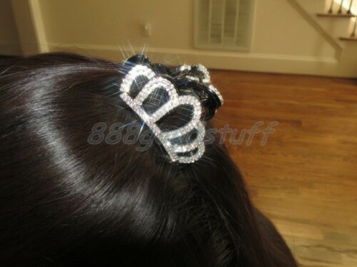 New Gorgeous Hair Clip Claw w Shinny Swarovski Crystals Jewelry Hair Accessories