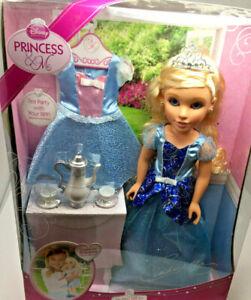 Disney-Princess-amp-Me-Cinderella-Doll-Tea-Party-Edition-NIB