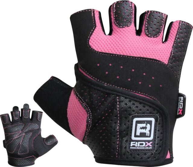RDX Ladies Gel Gloves Fitness Women Gym Wear Exercise Workout Training Cycling O