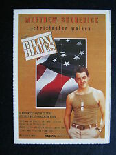 Filmplakatkarte cinema   Biloxi Blues    Matthew Broderick