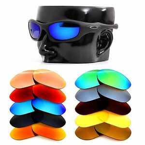 423a851527 Image is loading Polarized-IKON-Iridium-Replacement-Lenses-For-Oakley- Monster-