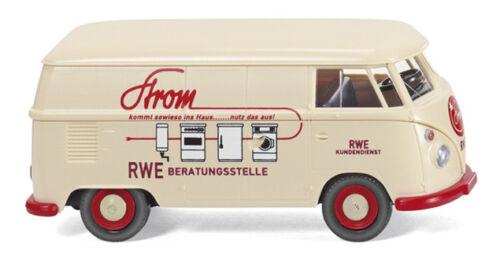"""NUOVO Wiking 079717-1//87 VW t1 CASSETTA Carrello /""""RWE/"""""""
