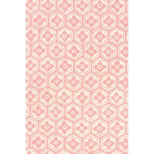 HAMAMONYO Tenugui /'Flower/'s Crest /& Hexagonal Pattern/' Japanese Hand Towel