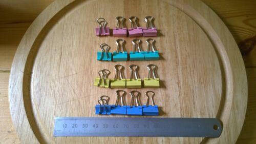 15mm Clips for Heatbeds x4 Foldback Bulldog 3D Printer Glass Bed Clip Reprap
