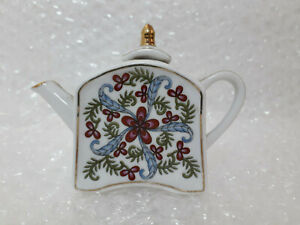 Miniature-Ornamental-Teapot-by-Porcelain-Art