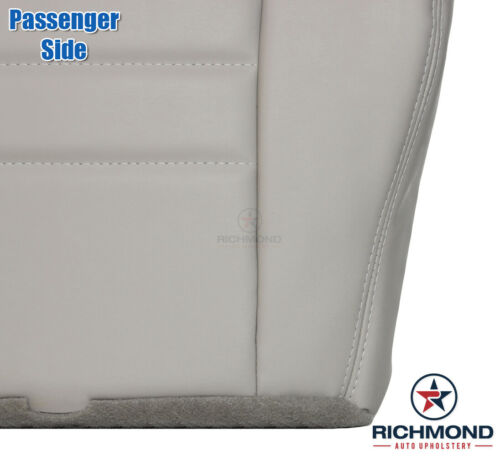 Passenger Side Bottom Leather Seat Cover Light Gray 2002 2003 2004 Jeep Liberty