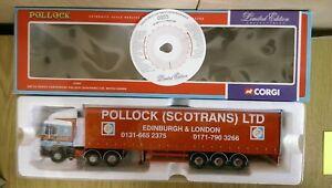 Corgi-75205-ERF-EC-Series-Curtainside-Pollock-Scotrans-Ltd-Ed-0005-of-4000