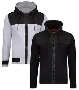 cceedd8c1ca1 Ringspun Harvington Zip Up Hoodie Men's Fleece Sweatshirt Hooded Top ...