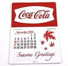 Coca Cola Coke USA Kalender 2014 Calendar - Fishtail Logo weiß