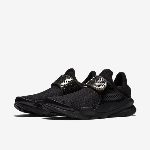 Nike Sock Dart Premium Black Volt Mens Nike Trainer - 819686-001