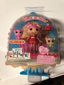 Mini-Lalaloopsy-Valentines-2014-Target-Exclusive-Velvet-B-Mine-Brand-New