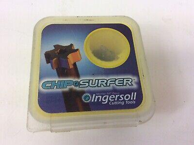 W .090 Ingersoll Chip Surfer 18T Carbide T-Slot Milling Tip Insert D .500 2
