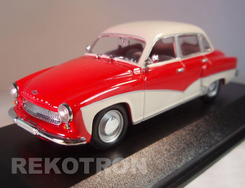 Wartburg 311 312 Limousine _ RDA 1957 _ Minichamps 1 43 neuf dans sa boîte