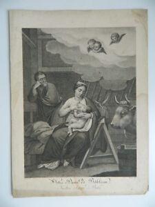Gravur Notre Dame Bethlehem von Choquet Graviert Von Bocourt