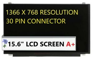 15.6 1366x768 LED Screen for DELL 3XJ36 LCD LAPTOP 03XJ36 B156XTN04.5 New