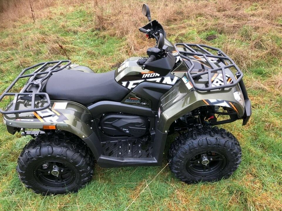 ATV GOES IRON