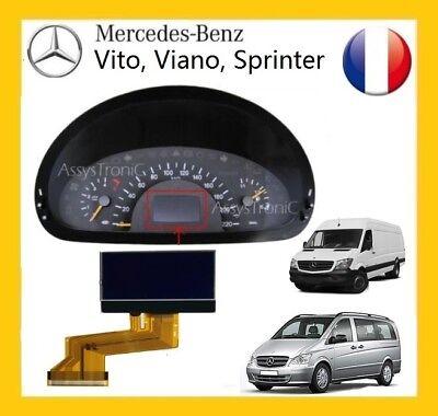 ECRAN OBD COMPTEUR LCD de MERCEDES VITO VIANO à partir de 2004 B3