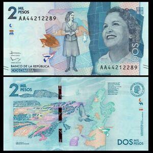 Colombia-2000-Pesos-19-8-2015-Pick-458a-SC-UNC