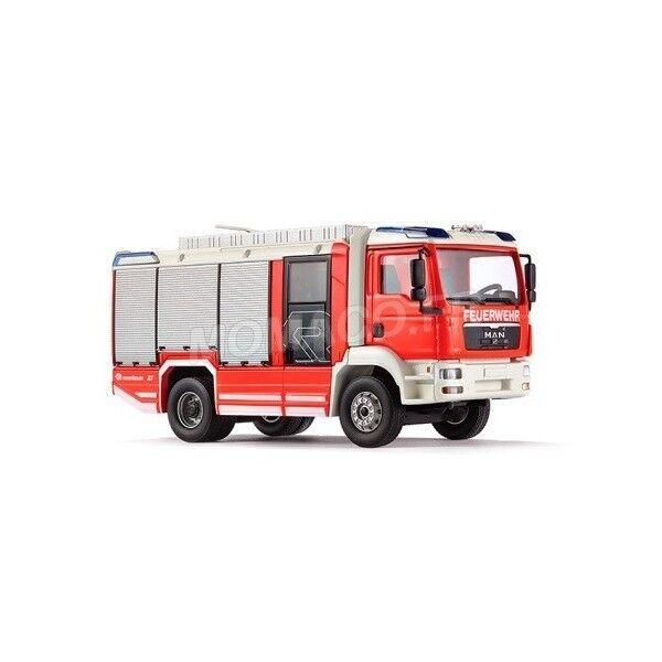 Wiking wiking 7612-man tgm pinknbaueur firemen 1 43