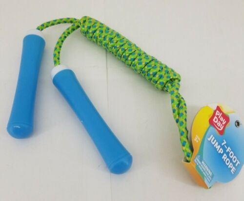 Kids 7 feet Jump Rope Assorted ColorsFor Ages 3 New Single Jump Rope New kids