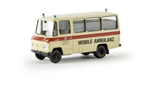 "Brekina 36705 mercedes benz o 309 bus /""rdc Mobile ambulancia/"" Frankenthal 1:87 nuevo"