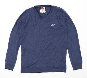 Lee Cooper Herren Größe XL blau Pullover