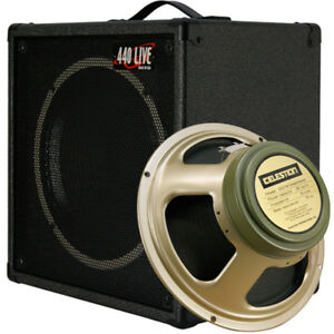 1x12 guitar speaker extension cab w 8 ohm celestion greenback ch black tolex ebay. Black Bedroom Furniture Sets. Home Design Ideas