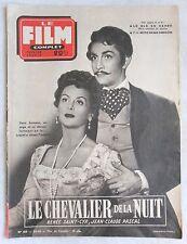 FILM COMPLET N° 459 LE CHEVALIER DE LA NUIT JEAN SERVAIS EDWIGE FEUILLERE BERGER