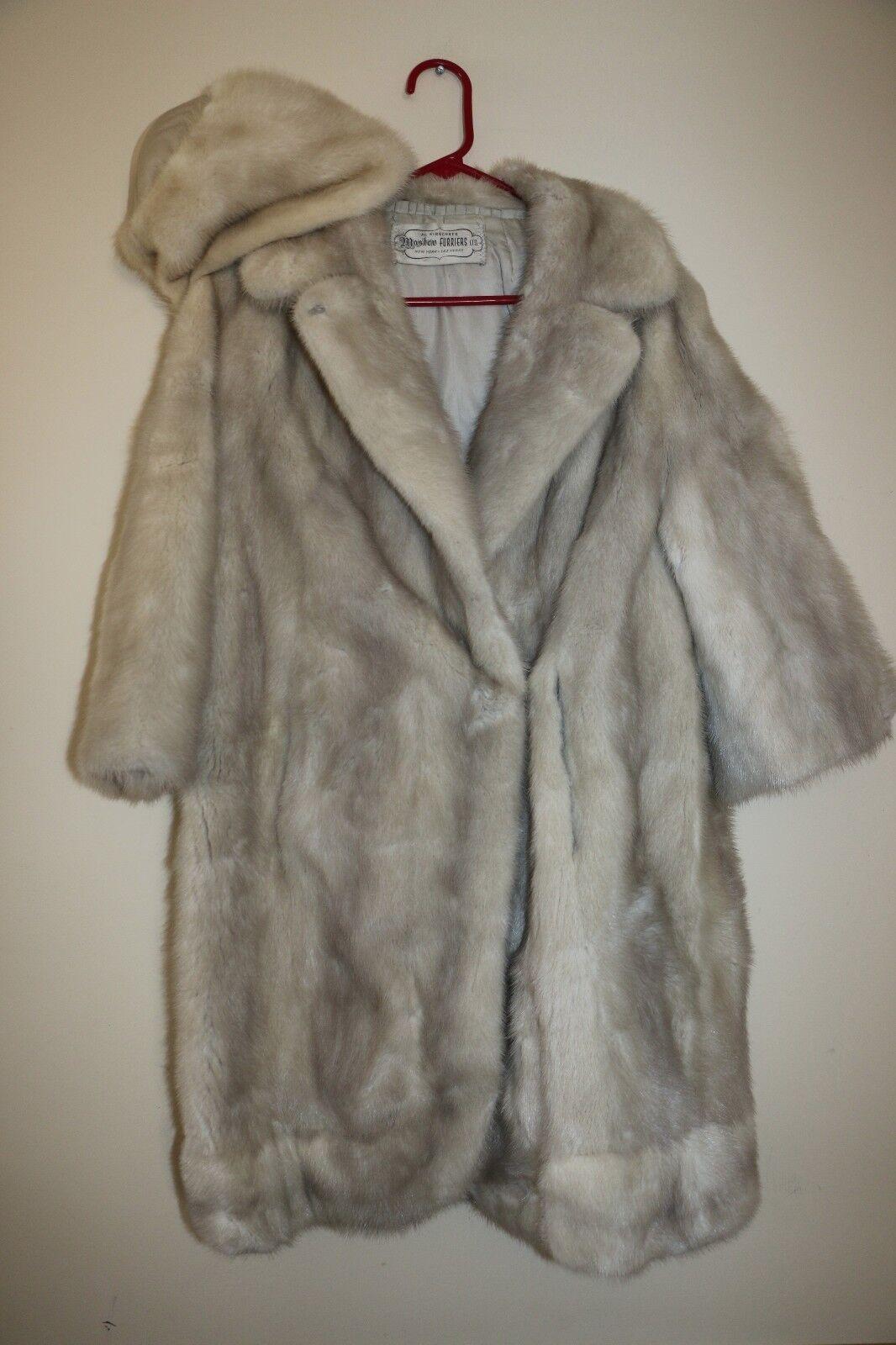 Para Mujer  al Kirschner Master furriers Ltd.. del Faux Fur Abrigo Con Sombrero  punto de venta