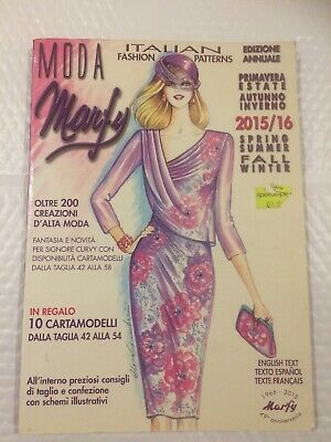 Moda Marfy Italian Fashion Design 2014 2016 Ebay