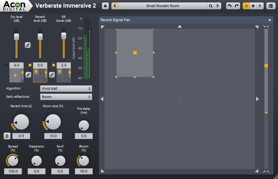 Acon Digital Verberate Immersive 2 VST, VST3, AAX, AU plugin (windows & mac)