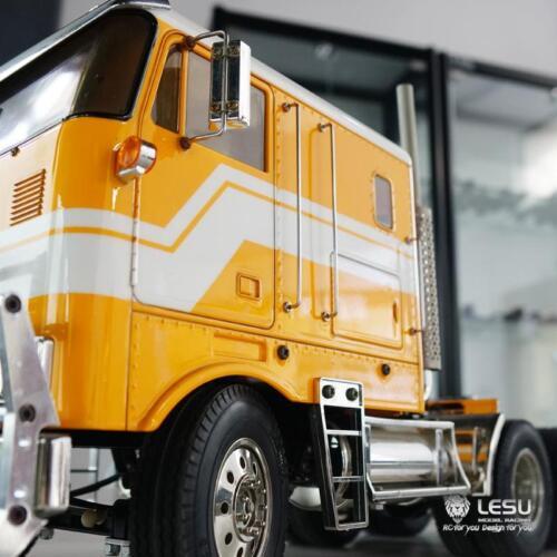LESU Metal Cab Side Guard for RC DIY TAMIYA 1//14 Globe Liner Tractor Truck Model