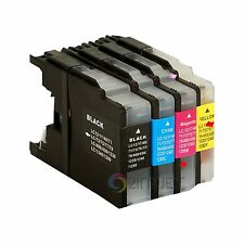 4pk LC75 LC-75 Ink Set for Brother LC71 MFC-J280W MFC-J425W MFC-J430W MFC-J435W