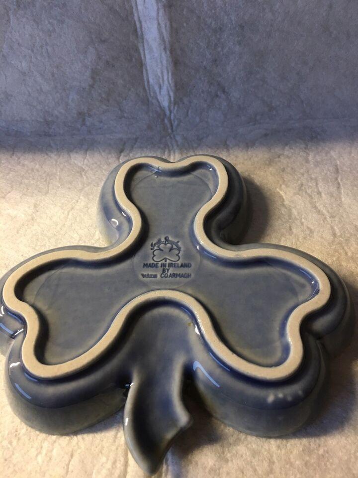 Porcelæn, KLØVERBLAD FAD FRA IRLAND, IRISH PORCELAIN