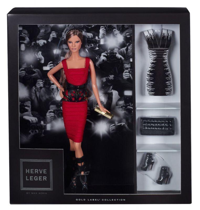 Herve Leger Barbie (en Caja Nuevo Con Tejido)