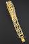 Infinity Gold Armband Altin Bileklik 18 Karat vergoldet Liebe Geschenkidee Neu