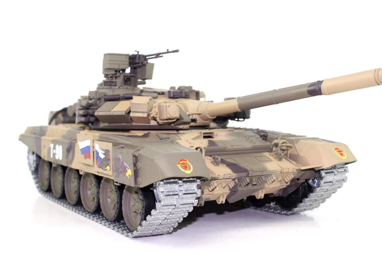 RC Panzer T90 Heng Long 1 16 Pro Edition, Rauch, Sound Metallketten u. Getriebe