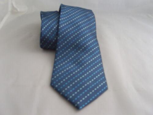 """17 Interwoven TIES-3.5/"""" = 9cm Width 100/% SILK Blue Mens Necktie"""