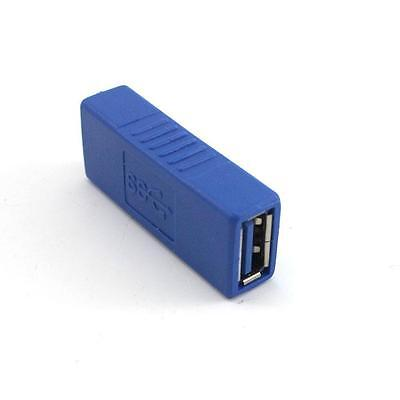 Practical USB 3.0 Type A Female to Female Connector Adapter New