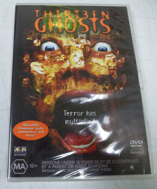 Rare Thir13en Ghosts Horror Movie DVD 2002 Australian Release Mint Sealed