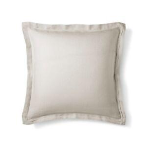 Details About One Fieldcrest Linen Euro Pillow Sham Afternoon Tea 26x 26 Target New I Have 2