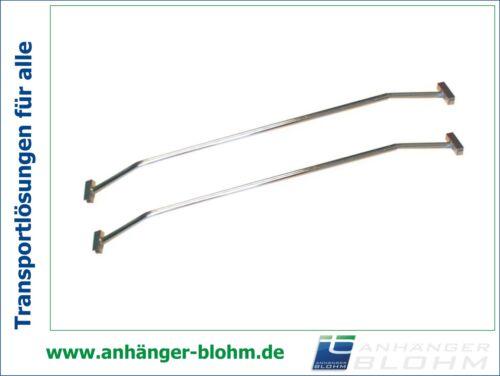 Planenbügel aus Aluminium Breite 100-145 cm verstellbar 2 Stück