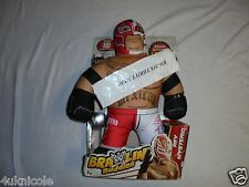 WWE REY MYSTERIO Wrestling Brawlin' Buddies Buddy Pants Talking Soft Figurine